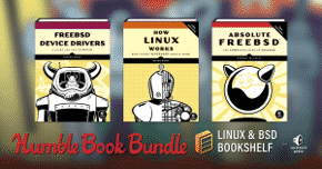 linux bsd bookshelf book bundle drm free pdf