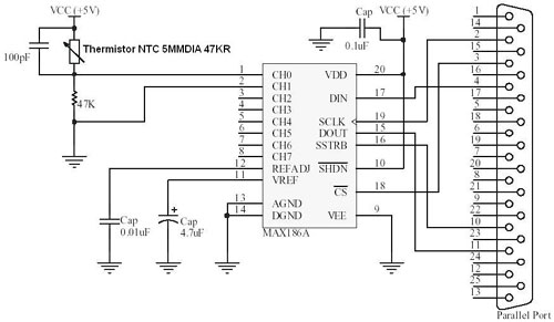 Adc Circuit Diagram