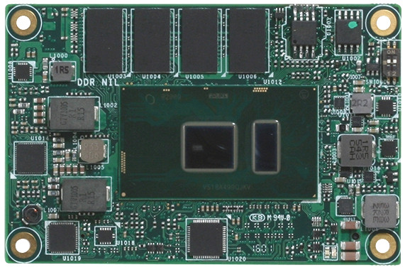 aaeon nanocomsku AAEONs NANOCOM KBU   The worlds first COM Express Type 10 board to be powered by a 7th Gen Intel Core U Processor