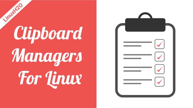 Clipboard managers for Linux