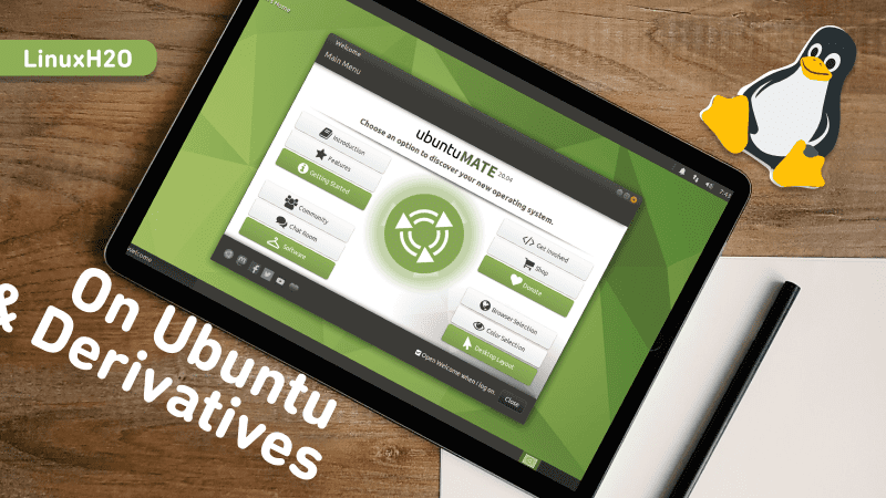 Mate desktop on Ubuntu