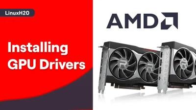 Install AMD drivers on Ubuntu