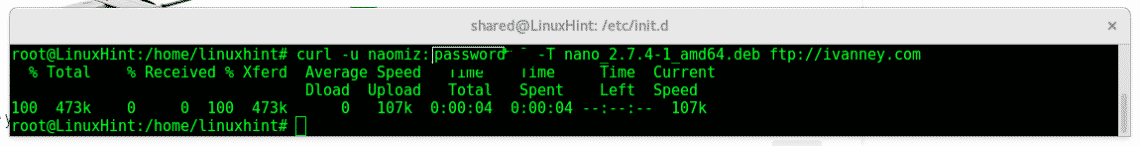 How to use curl command in Linux – Linux Hint