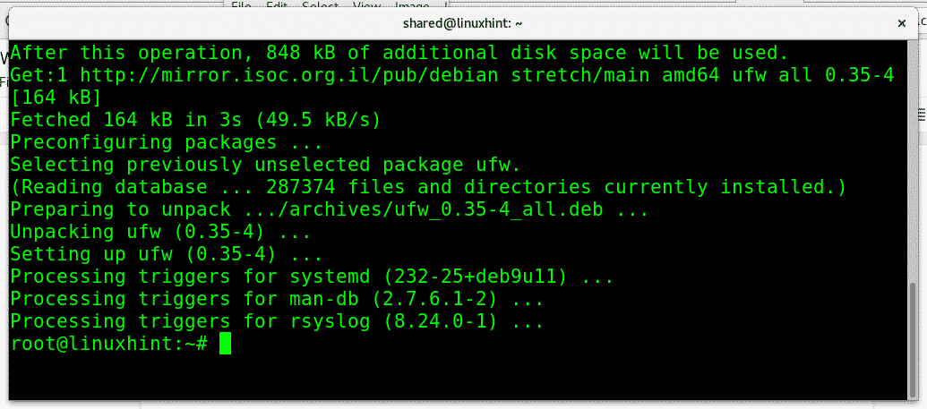 Working with Debian Firewalls (UFW) – Linux Hint
