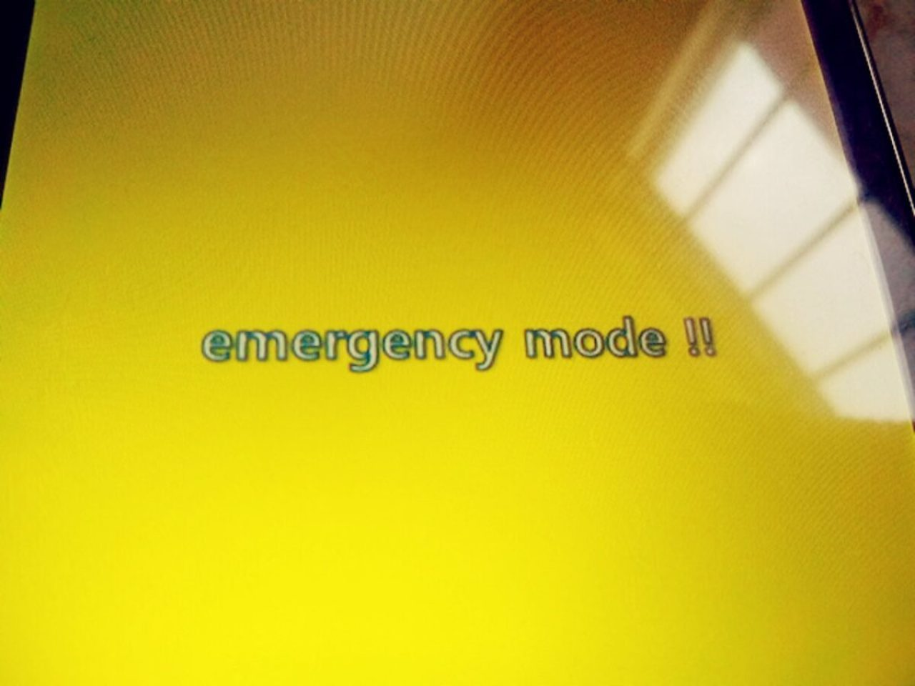 Emergency Mode LG