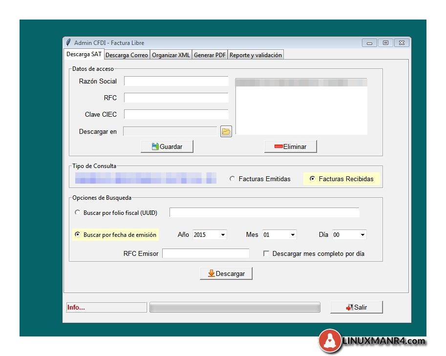 Descargar los XML del SAT de una manera ms sencilla