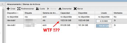 Sistema de archivos 1TB
