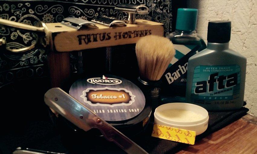 afeitado tradicional, jabones, navajas, after shave y brochas