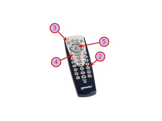 Control remoto universal gowin