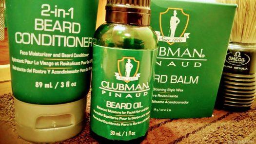 Clubman Pinaud para el cuidado de la barba.