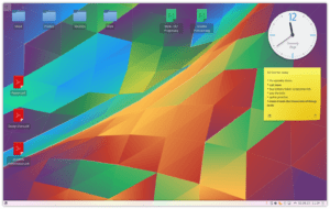 The KDE4 Plasma Desktop