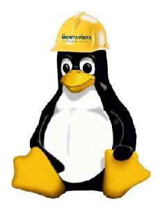 The original MontaVista Hardhat Linux penguin