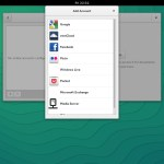 OpenSUSE 13.2 GNOME - Online Accounts