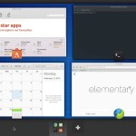 Elementary OS 0.3 Freya Beta 2 : Workspaces