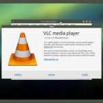 Ubuntu MATE 15.04 - VLC media player