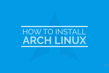 howto install arch linux