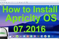 How to Install Apricity OS 07.2016 Aspen on VMware