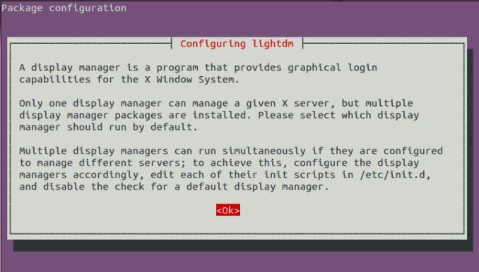configuration lightdm