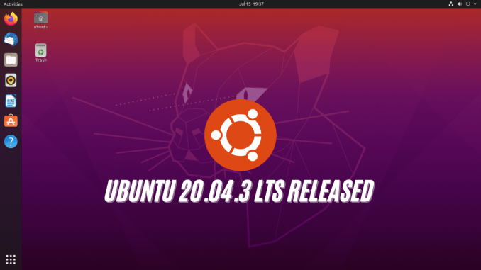 Ubuntu 20.04.3 LTS Download