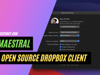 Install Maestral : Open Source Client for Dropbox on Linux
