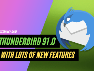 Thunderbird 91.0 Released with lots of New features