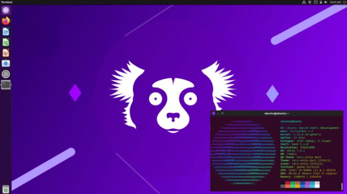 Ubuntu Unity 21.10