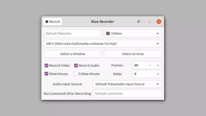 How to install Blue Recorder, a screen recorder, on Ubuntu, Linux Mint, Fedora, Debian and openSUSE!