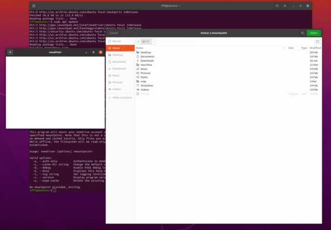 How to Access OneDrive on Linux thanks to OneDriver