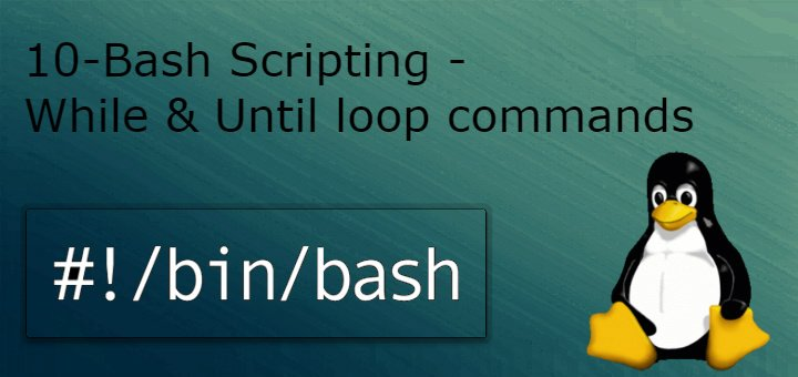 While loop & until loop