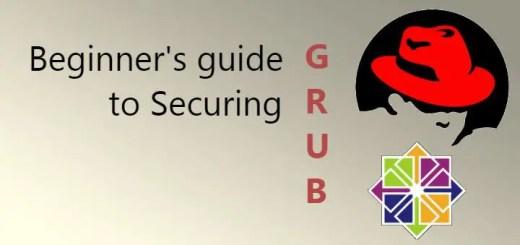 secure grub