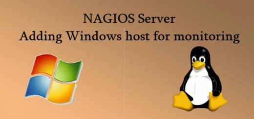 Windows host to Nagios
