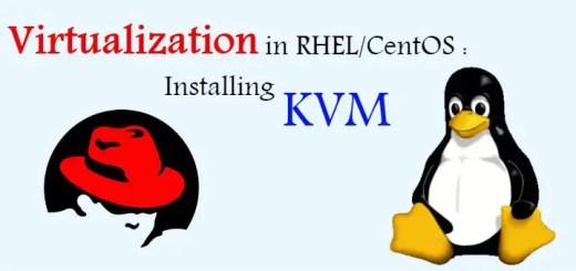 installing KVM on centos