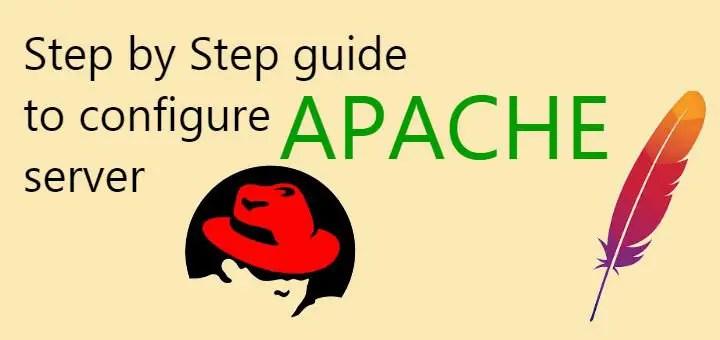 configure apache