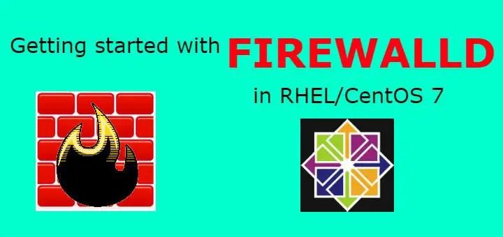 firewalld in Rhel centos