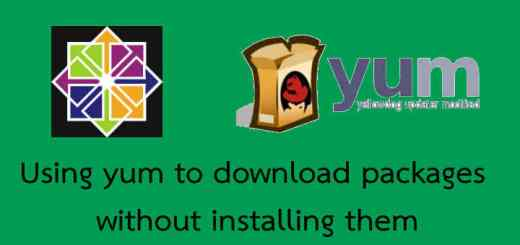 Yum to download packages
