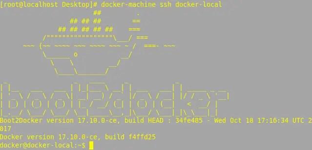 manage docker hosts with docker machine