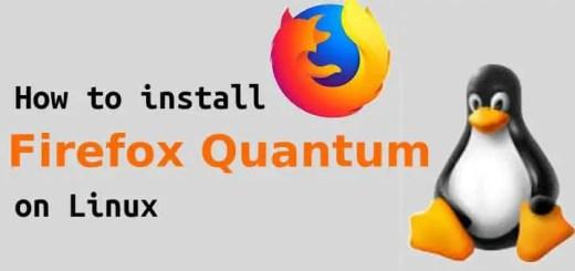 install firefox quantum