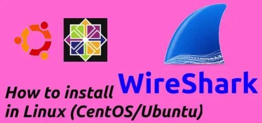 How to install WireShark on Linux (CentOS/Ubuntu) - LinuxTechLab