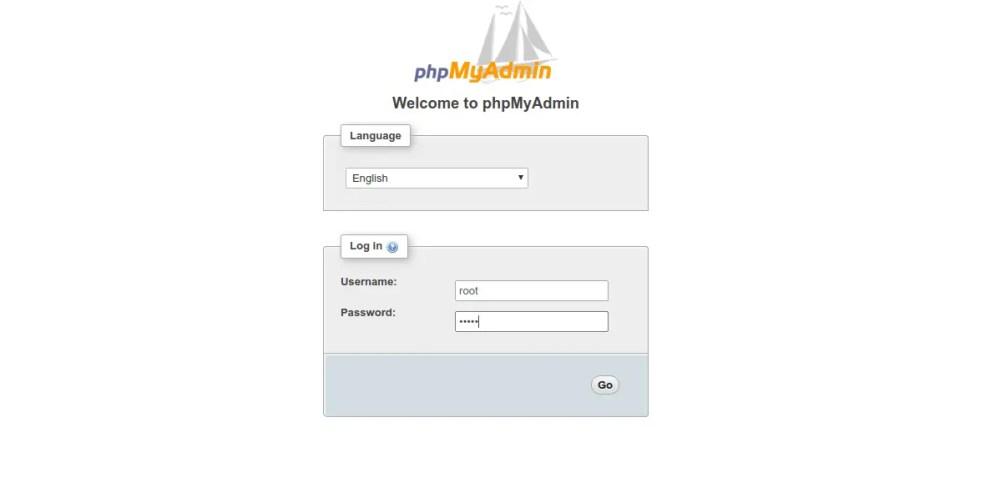 install phpmyadmin