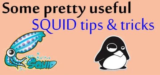 squid tips & tricks