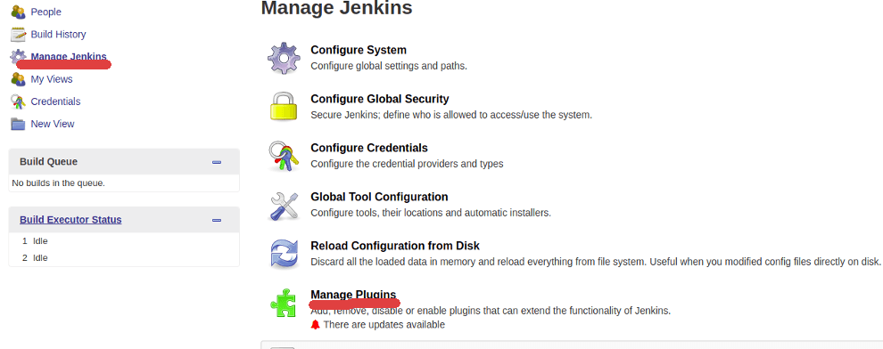 install plugins on jenkins