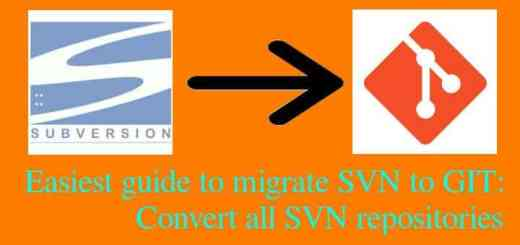 migrate SVN to GIT