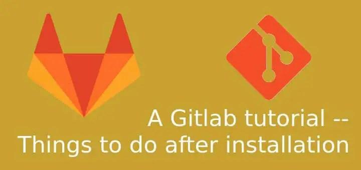 Gitlab tutorial