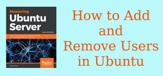 Add and Remove Users in Ubuntu
