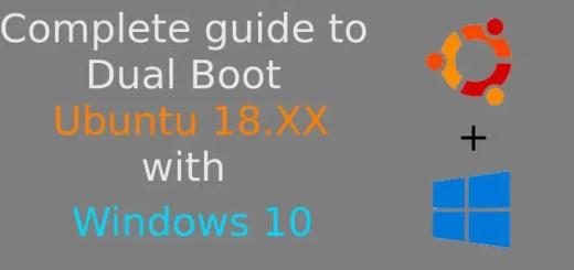 ubuntu 18 04 dual boot windows 10