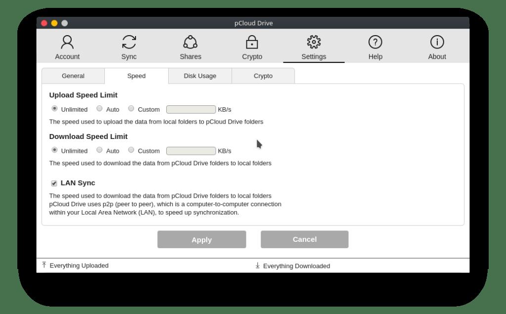 pcloud linux