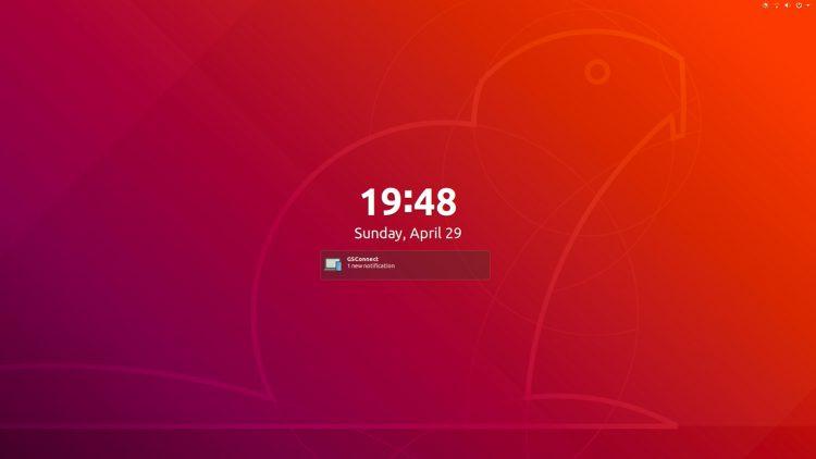 ubuntu 18.04 lockscreen