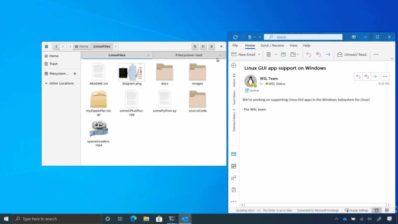 Запуск графических приложений Linux в Windows 10