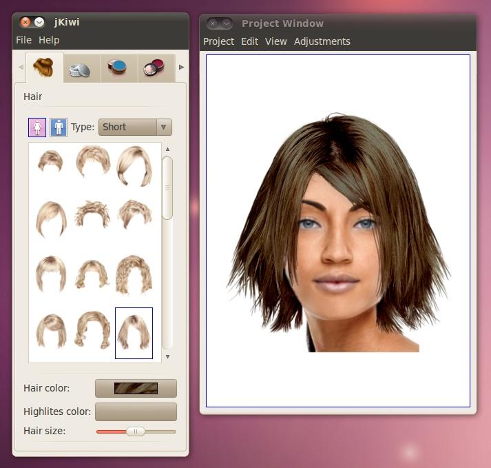 Virtuell Frisuren Testen Haarschnitt Lange Haare