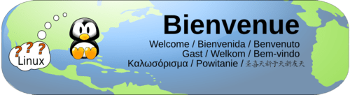 LinuxVillage welcome logo